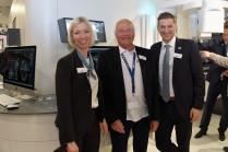 Marketing-Leiterin Stephanie Myers, Referent Dr.Jørgen Buchgreitz aus Dänemark. Und Produkt-Manager Karsten Engel sind stolz auf die neue Endo-Software von SICAT