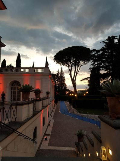 Villa Miani, exklusiver Abendevent